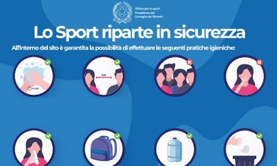 SPORT RIPARTENZA IN SICUREZZA...